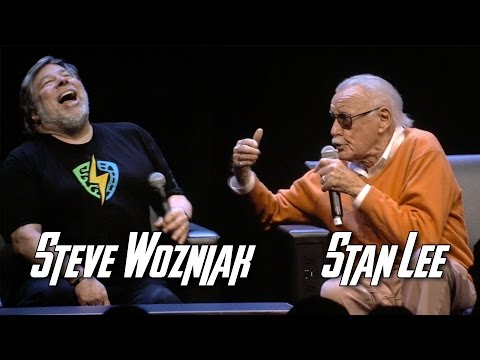 Steve Wozniak & Stan Lee - Silicon Valley Comic Con Closing