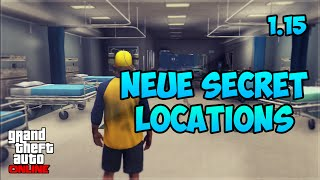 GTA 5 Online: 6 SECRET LOCATIONS | Human Lab, FIB, Krankenhaus | Deutsch