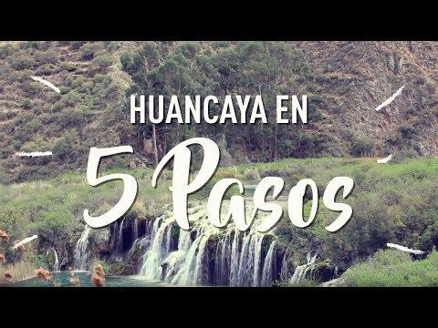Báñate en la laguna más turquesa de Huancaya 💦