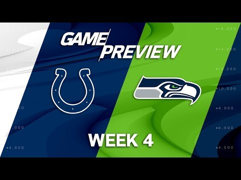 Indianapolis Colts vs. Seattle Seahawks | Week 4 Game Preview | NFL