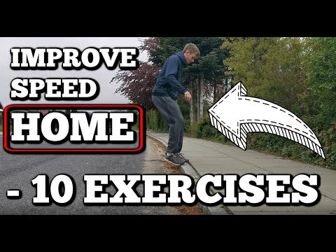 Badminton: SPEED At HOME - 10 Exercises 🤘😎