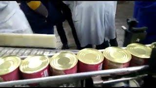 116/Етикетування поліпропіленової етикетки на консервні банки/етикетировочний автомат/ПрактикМ