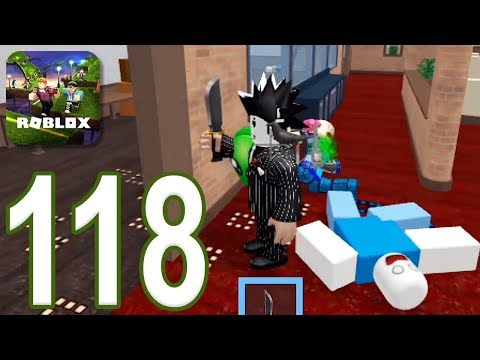 ROBLOX - Gameplay Walkthrough Part 118 - Murder Mystery 2 (iOS, Android)