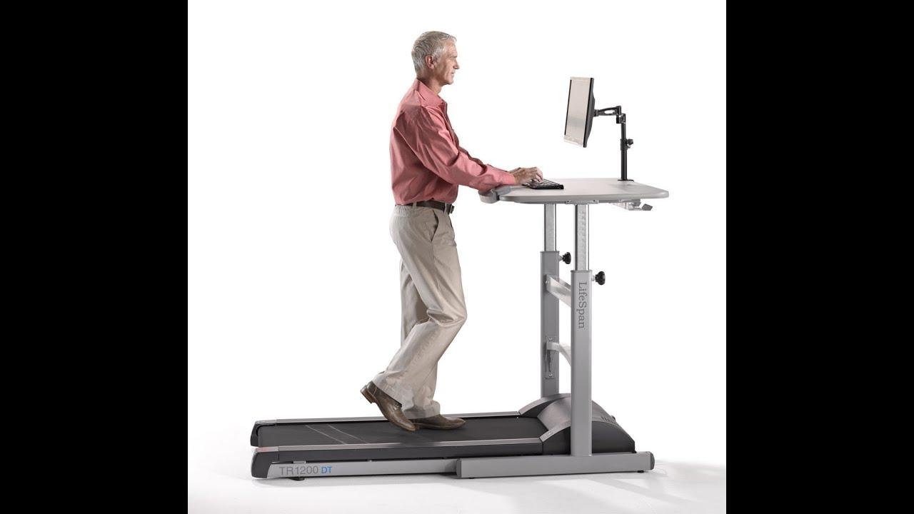 Chair Gym Reviews Portable Beach Chairs Canada Lifespan Tr1200 Dt5 Treadmill Desk Review Youtube