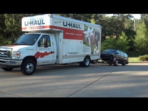 Self Move Using U-Haul Rental Equipment Information