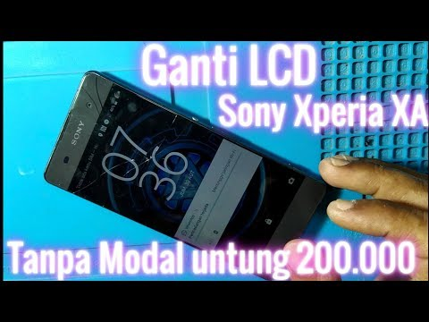 Servis HP Sony Xperia XA Ganti LCD