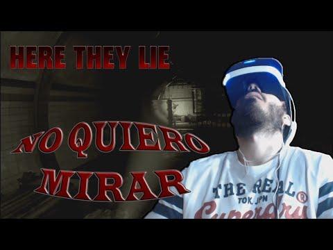 PlayStation VR Demo | HERE THEY LIE | ¡NO VUELVO AL METRO! WTF!