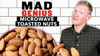 How To Toast Nuts In The Microwave | Mad Genius