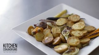 How To Roast Perfectly Crisp Vegetables - Kitchen Conundrums With Thomas Joseph