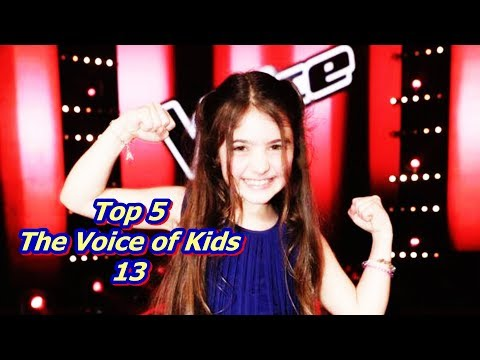 Top 5 - The Voice Of Kids 13