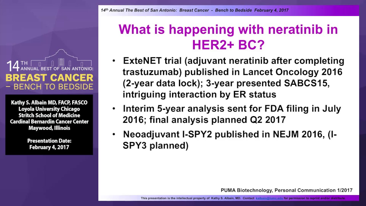 Adjuvant/Neoadjuvant Therapy for Breast Cancer: Updates and Molecular  Predictors of Benefit