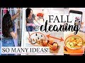 FALL INSPIRED CLEANING ROUTINE 2018 ALL DAY CLEAN WITH ME!   Alexandra Beuter