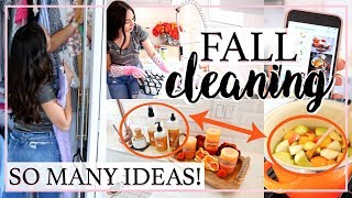 FALL INSPIRED CLEANING ROUTINE 2018 ALL DAY CLEAN WITH ME! | Alexandra Beuter