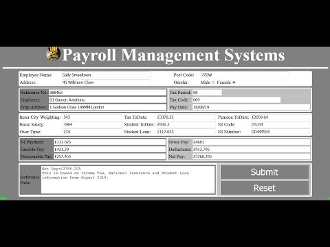 How To Create A Payroll Management System Using PHP, CSS And HTML