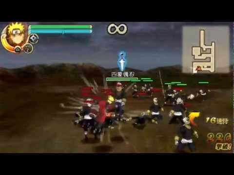 [PSP Game]Naruto Shippuden Ultimate Ninja Impact Japanese Demo Gameplay Part 1/2 from YouTube · Duration:  10 minutes 23 seconds