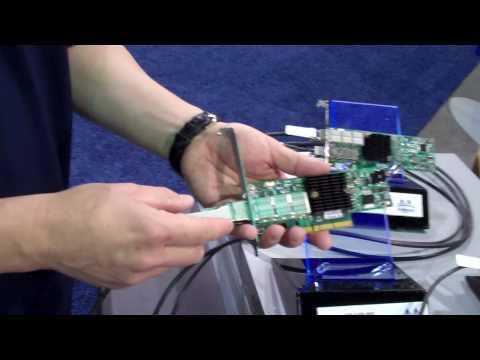 10GbE Adapter Mellanox QSFP MAM1Q00A-QSA to SFP