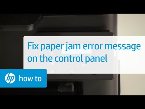 Document Feeder Mispick Message Displays On The Contr