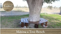 Making a Tree Bench - Wooden U
