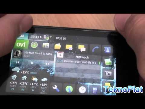 Nokia N900 die Lautstärke (Volume) und Symfonie Klangregler zur Lautstärke