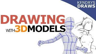 Clip studio paint- Drawing with 3D models