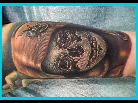 Los Mejores Tatuajes De Calaveras En El Brazo Youtube