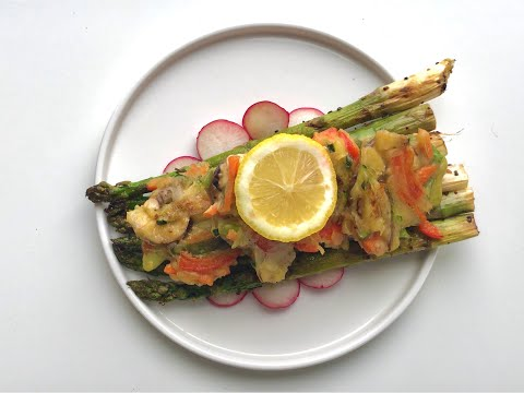 vegetable-pancakes-with-asparagus,ladish-and-lemon_veganmeal-and-recipes
