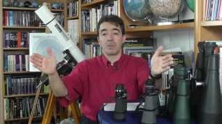 Astronomische Beobachtungsgeräte - Das Fernglas
