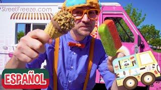 Blippi Español Visita un Camión de Helados | Videos Educativos | Matemáticas y Sumas para Niños