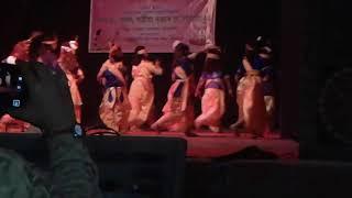 Nagaon জেলা গ্রন্থাগারে অসমিয়া সাংস্কৃতিক প্রোগ্রাম Satria nittra
