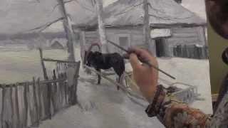 В рамках подготовки к пленэрам в Переславле видеоурок по живописи. Художник Игорь Сахаров