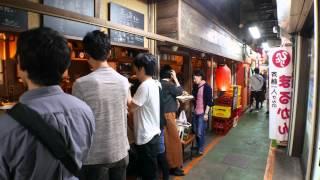harmonica-yokocho(small alley),kichijoji musashino-city tokyo jp  saturday around 20 o'clock