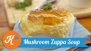 Resep Mushroom Zuppa Soup   FEBRI RACHMAN