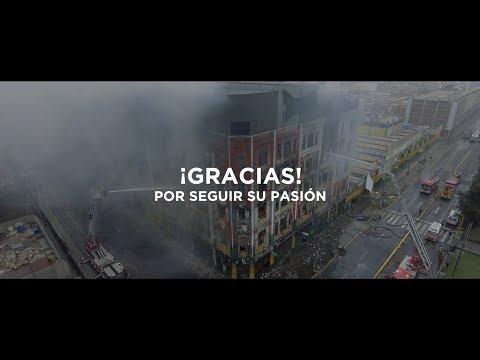 A nuestros bomberos, ¡Gracias!