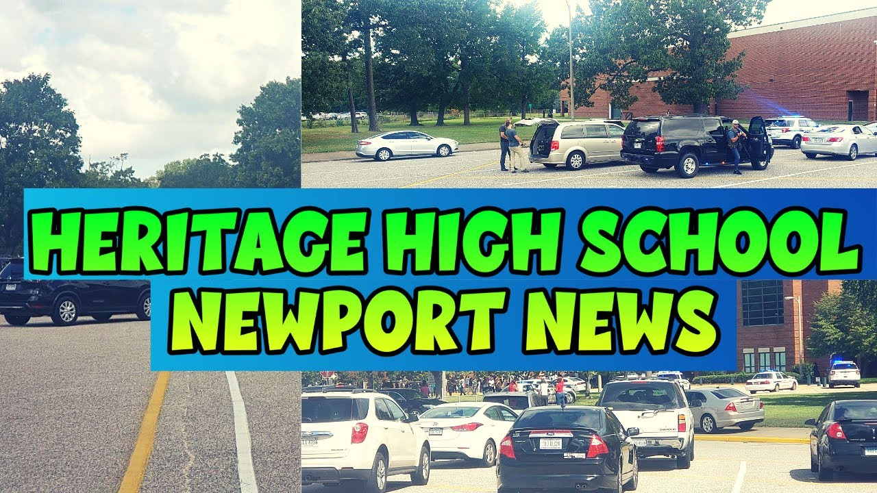 Heritage High School: Boy taken into custody after Virginia school ...