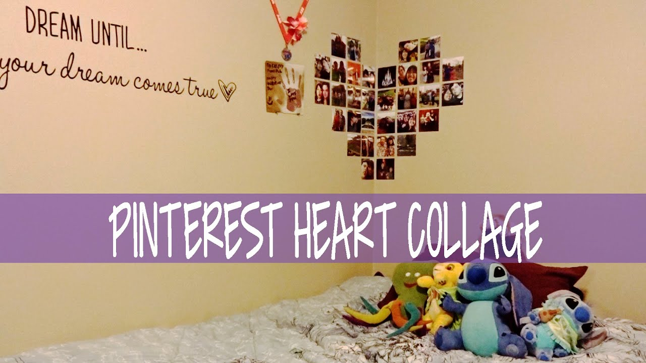 Pinterest Picture Heart Collage - YouTube