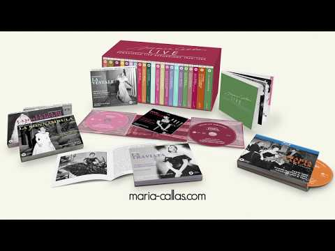 Maria Callas Live: Re-mastering her live opera recordings from original tapes