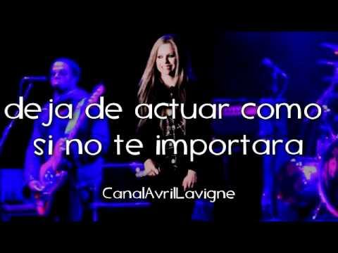 Avril Lavigne - Stop Standing There (Traducida Al Español)