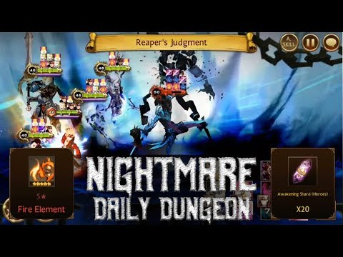 Seven Knights - Nightmare Daily Dungeon (Friday, Fire Element)