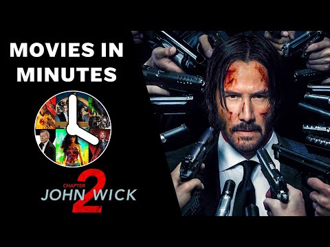 JOHN WICK: CHAPTER 2 In 4 Minutes (Movie Recap)