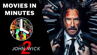 JOHN WICK: CHAPTER 2 in 4 minutes (Movie Recap)