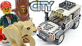 New /& Sealed LEGO City 60267 Lego City Safari Off-Roader with Lion