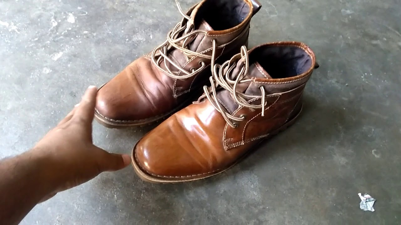 HINDI] Leather Shoes Review RED TAPE