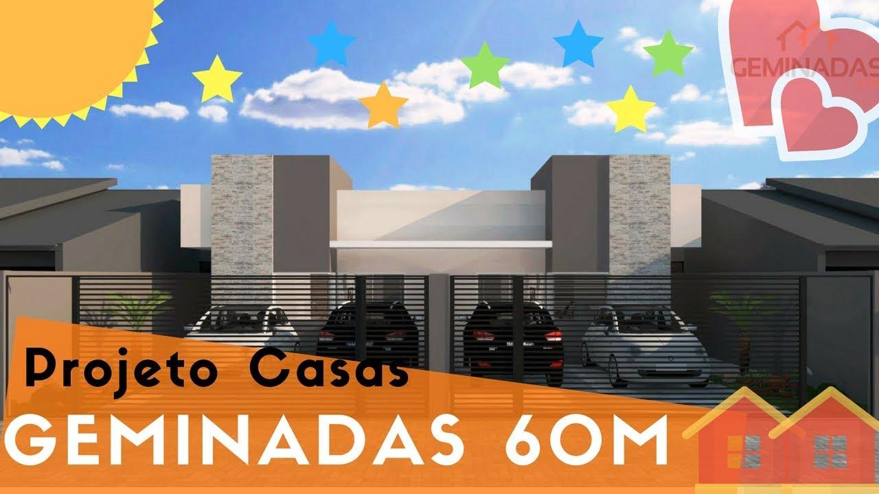 Super Projeto 3D Casa de 60 Metros - YouTube LQ28