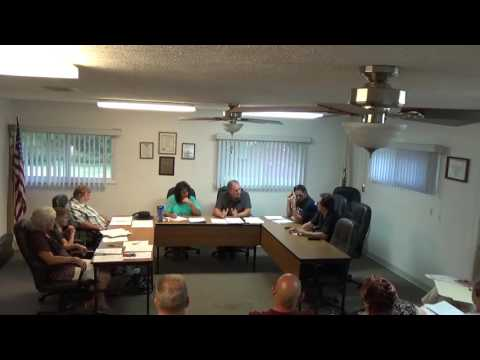 07/18/16 Village of Holiday Hills Board Meeting.