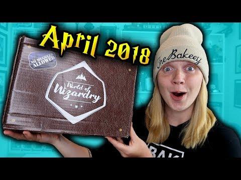 Harry Potter - World Of Wizardry Unboxing - April 2018 - Geek Gear