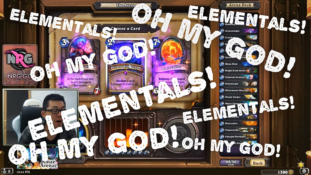 how to build a deck in hearthstone arena