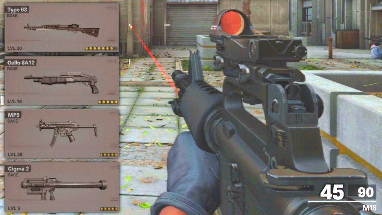 Black Ops Cold War New Gunsmith Up To 8 Attachments