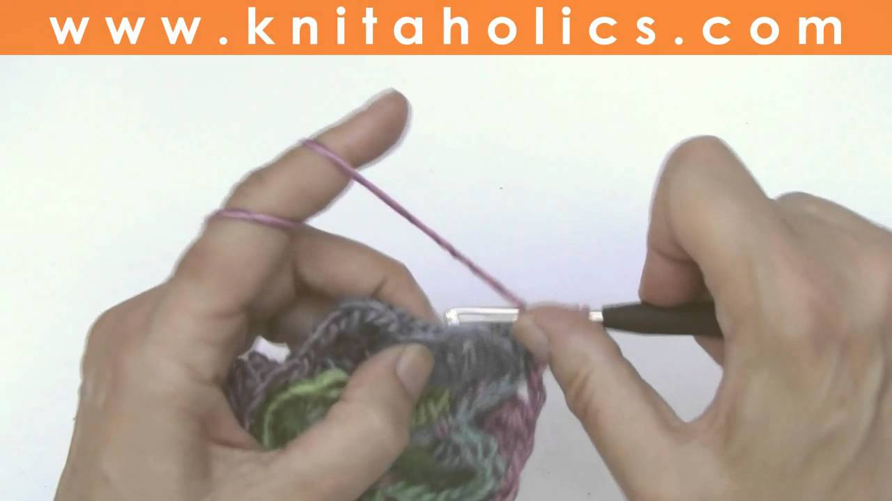 How to Crochet * Yarneater Blanket * Catherine\'s Wheel - YouTube
