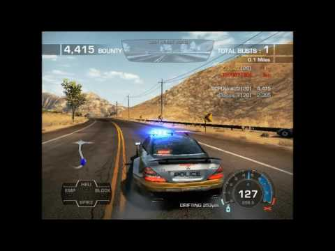 Need for Speed Hot Pursuit 2010 Online Gameplay 63 (SCPDUnit23)