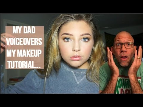 Thumbnail: My Dad Voiceovers My Makeup Tutorial... | Reilly Koebel